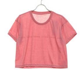 レディース フィットネス 半袖Tシャツ CROP TEE DC79303