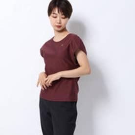 レディース フィットネス 半袖Tシャツ SOLID FRENCH DC19311