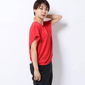 レディース フィットネス 半袖Tシャツ WIDE TEE DC79302