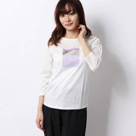 レディース フィットネス 半袖Tシャツ 3/4 GRAPHIC TEE DC70112