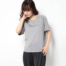 レディース フィットネス 半袖Tシャツ HEATHER RAGLAN TEE DC70106