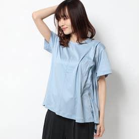 レディース フィットネス 半袖Tシャツ ASYMMETRY TUCK TEE DC50119