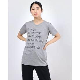 レディース フィットネス 半袖Tシャツ HEATHER GRAPHIC TE DC70113