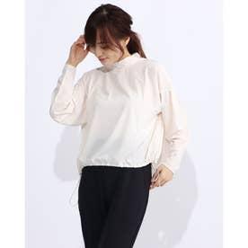 レディース フィットネス 長袖Tシャツ YOGI CLOTH FLARE T DC30309 (ホワイト)