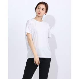 レディース フィットネス 半袖Tシャツ HIGH GAUGE S/S TEE DC70308 (グレー)