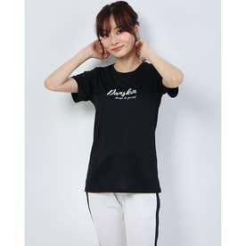 レディース フィットネス 半袖Tシャツ HEATHER GRAPHIC T DC70313 (ブラック)
