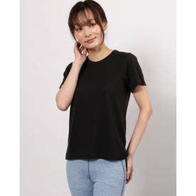 レディース フィットネス 半袖Tシャツ DRYMIX MESH TEE DC721111 (ブラック)