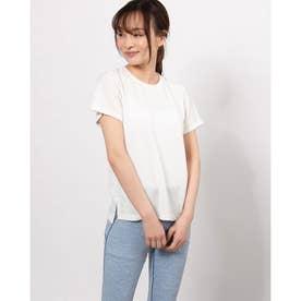レディース フィットネス 半袖Tシャツ DRYMIX MESH TEE DC721111 (ホワイト)
