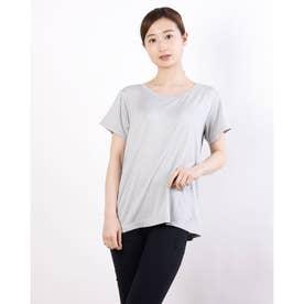レディース フィットネス 半袖Tシャツ ADAJ LIGHT TEE DA721102 (グレー)