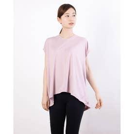 レディース フィットネス 半袖Tシャツ ADAJ LIGHT SLEEV-T DA721103 (ピンク)