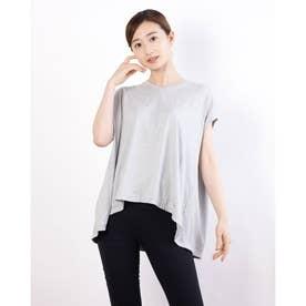 レディース フィットネス 半袖Tシャツ ADAJ LIGHT SLEEV-T DA721103 (グレー)