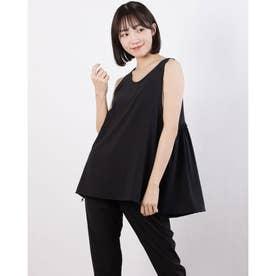 レディース フィットネス タンクトップ YOGI CLOTH TANK DC30308 (ブラック)