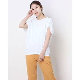 レディース フィットネス 半袖Tシャツ ICE COMFY BIG TOP DC521111 (ホワイト)