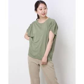 レディース フィットネス 半袖Tシャツ ICE COMFY BIG TOP DC521111 (イエロー)