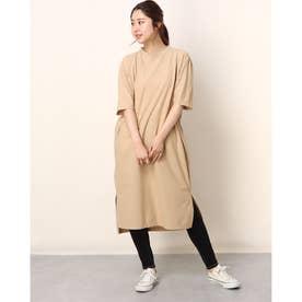 レディース フィットネス チュニックシャツ ONE PIECE DMF521104 (ベージュ)