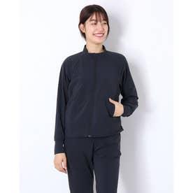 レディース フィットネス アウター ESSENTIAL FIT JK(エッセンシャルフィットジャケット) DA30360 (ブラック)