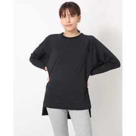 レディース フィットネス 長袖Tシャツ HIGH LINE L/S TEE(ハイラインロングスリーブティー) DA721301 (ブラック)