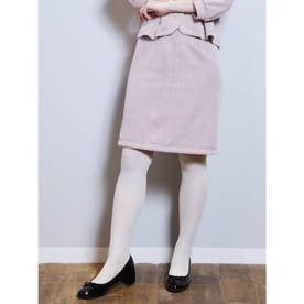 【S】レトロミディタイトスカート (BRD)