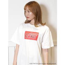 【Cherry Coke】5COLOR Tシャツ(オフホワイト)