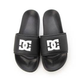 DC/キッズ サンダル DK202001 (ブラック×ブラック)