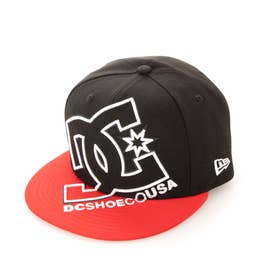DC/キャップ 9FIFTY DOUBLE UP DATE GDYHA03000 (ブラック×レッド)