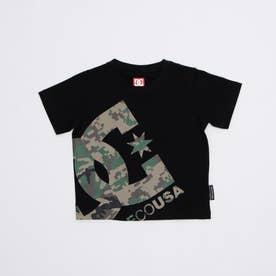 DC/キッズ Tシャツ YST211528 (ブラック)