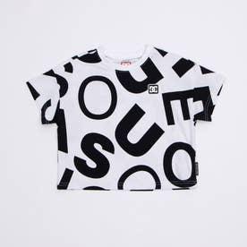 DC/キッズ Tシャツ YST211526 (ホワイト)