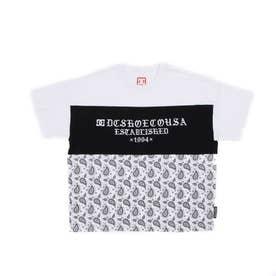 DC/キッズ Tシャツ YST212512 (ホワイト)