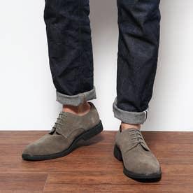 SFW [MADE IN JAPAN]様々なスタイルに取り入れやすく通年履けるプレーントゥレザーシューズ/5265 (グレー)