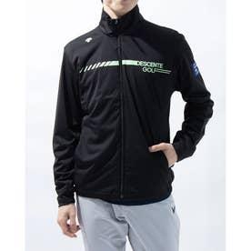 メンズ ゴルフ 長袖ウインドブレーカー ブルゾン/コート/WB DGMRJK02 (ブラック)