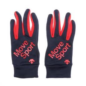 手袋 フィールドグローブ DMAQJD91 (ネイビー)