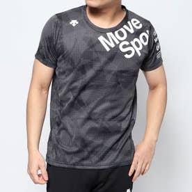 メンズ 半袖機能Tシャツ ジャガードグラフィックTシャツ DMMPJA63