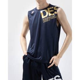 メンズ ノースリーブ機能シャツ ノースリーブシャツ DX-C0777AP (ネイビー)