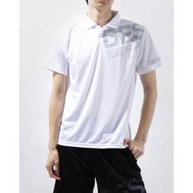 メンズ 半袖機能ポロシャツ ポロシャツ DX-C0765AP (ホワイト)