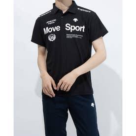 メンズ 半袖ポロシャツ サンスクリーン ポロシャツ DMMRJA70 (ブラック)