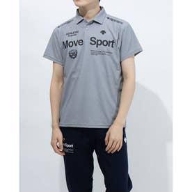 メンズ 半袖ポロシャツ サンスクリーン ポロシャツ DMMRJA70 (グレー)