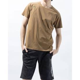 メンズ 半袖Tシャツ エンジニアード ハンソデTシャツ DMMRJA51Z (ベージュ)