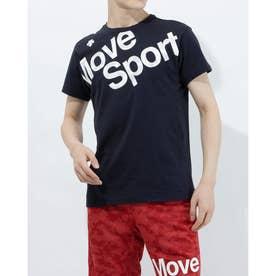 メンズ 半袖Tシャツ コットン 半袖Tシャツ DMMRJA50 (ネイビー)
