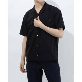 メンズ 半袖シャツ オープンカラーシャツ DX-C0930AP (ブラック)