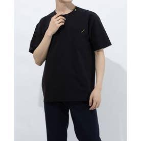 メンズ 半袖Tシャツ クロスハンソデシャツ DX-C0932AP (ブラック)