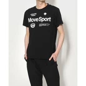 メンズ 半袖機能Tシャツ サンスクリーン ハンソデTシャツ DMMRJA60 (ブラック)