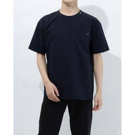 メンズ 半袖Tシャツ クロスハンソデシャツ DX-C0932AP (ネイビー)