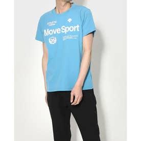 メンズ 半袖機能Tシャツ サンスクリーン ハンソデTシャツ DMMRJA60 (ブルー)