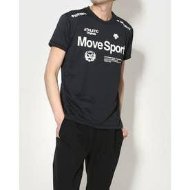 メンズ 半袖機能Tシャツ ドライトランスファーハンソデTシャツ DMMRJA56 (ブラック)