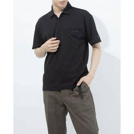 メンズ 半袖ポロシャツ ポロシャツ DX-C0937AP (ブラック)