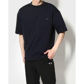 メンズ 半袖Tシャツ ビッグシルエット ハンソデシャツ DX-C0933AP (ネイビー)