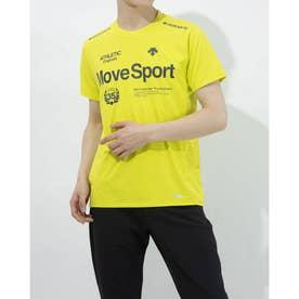 メンズ 半袖機能Tシャツ クーリスト Tシャツ DMMPJA57 (イエロー)