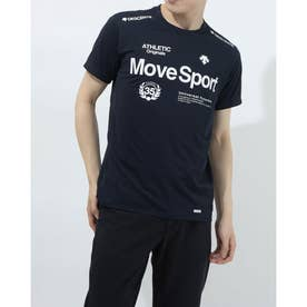 メンズ 半袖機能Tシャツ クーリスト Tシャツ DMMPJA57 (ネイビー)
