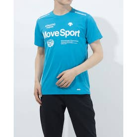 メンズ 半袖機能Tシャツ クーリスト Tシャツ DMMPJA57 (ブルー)