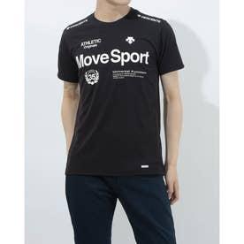 メンズ 半袖機能Tシャツ クーリスト Tシャツ DMMPJA57 (ブラック)
